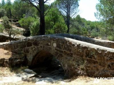 Puentes romanos Valle del Tiétar; viajes septiembre;viajes trekking;puente almudena